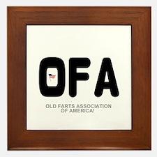 OLD FARTS ASSOCIATION OF AMERICA Framed Tile