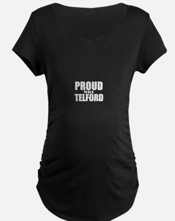 Proud to be TEETS Maternity T-Shirt