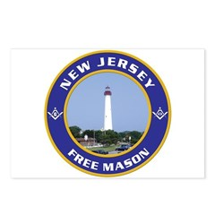 New Jersey Freemason Postcards (Package of 8)