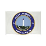 New Jersey Freemason Rectangle Magnet (10 pack)