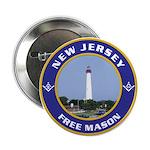 New Jersey Freemason Button