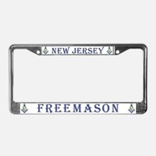 New Jersey Freemason License Plate Frame