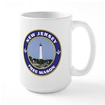 New Jersey Freemason Large Mug