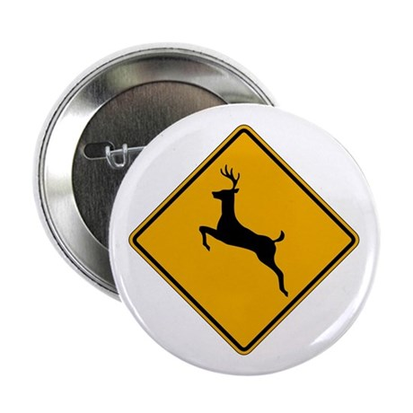 "Deer Crossing 2.25"" Button (10 pack)"