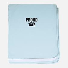 Proud to be TASKER baby blanket