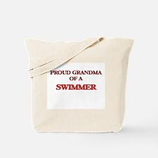 Proud Grandma of a Swimmer Tote Bag