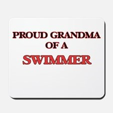 Proud Grandma of a Swimmer Mousepad