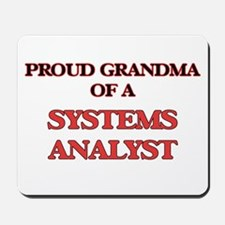 Proud Grandma of a Systems Analyst Mousepad