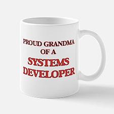 Proud Grandma of a Systems Developer Mugs
