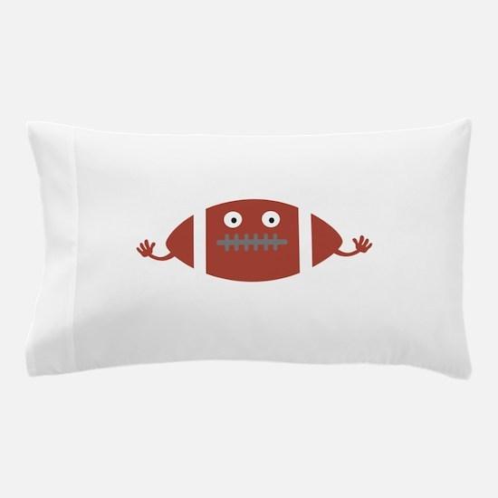 Football head Pillow Case
