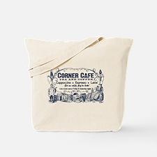 Vintage Coffee Advertisement Tote Bag