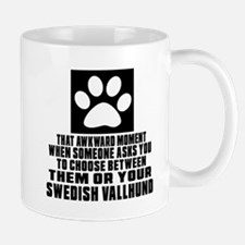 Swedish Vallhund Awkward Dog Designs Mug