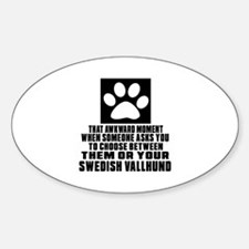 Swedish Vallhund Awkward Dog Design Decal