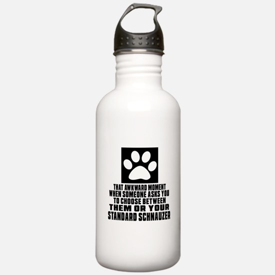 Standard Schnauzer Awk Water Bottle