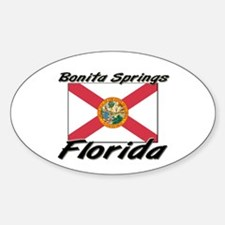 Bonita Springs Florida Oval Decal