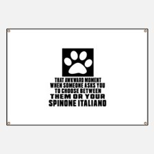 Spinone Italiano Awkward Dog Designs Banner