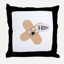 compassionate patch Throw Pillow
