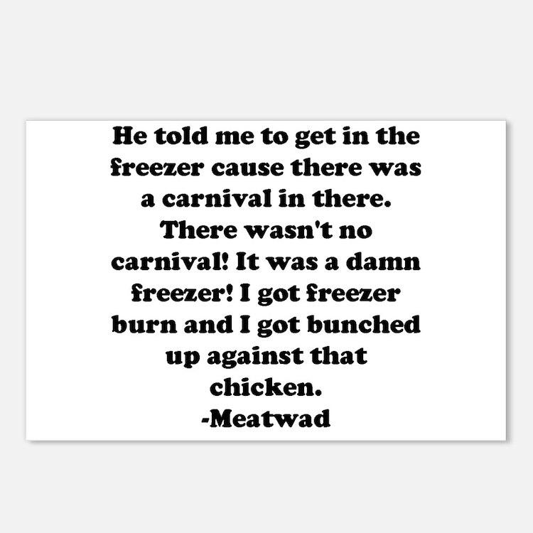 Cute Meatwad Postcards (Package of 8)