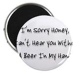 sorry honey Magnet