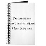 sorry honey Journal