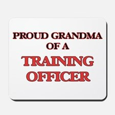 Proud Grandma of a Training Officer Mousepad