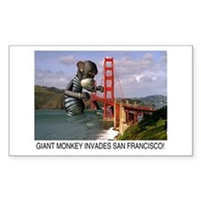 Golden Gate Bridge Rectangle Decal