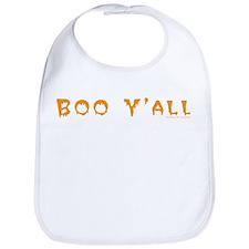 Boo Y'all Orange Bib