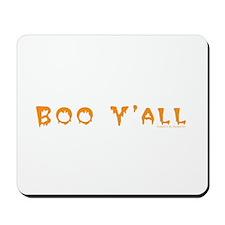 Boo Y'all Orange Mousepad
