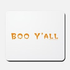 Boo Y'all Orange Mousepad