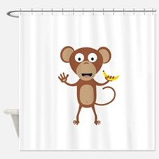 Funny Primate Shower Curtains