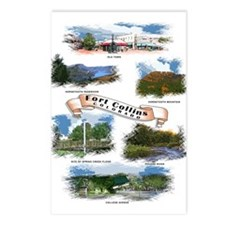 Fort Collins Postcards (Package of 8)