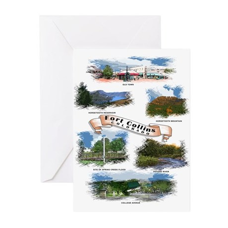 Fort Collins Greeting Cards (Pk of 10)
