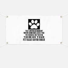 Petit Basset Griffon Vendeen Awkward Dog De Banner