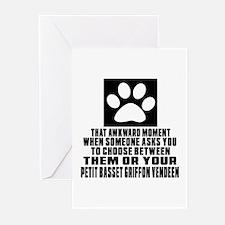 Petit Basset Griffon Ven Greeting Cards (Pk of 20)