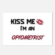 Kiss Me I'm a OPTOMETRIST Postcards (Package of 8)