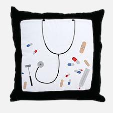 Cute Medical Throw Pillow