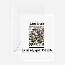 OPERA - RIGOLETTO - GUISEPPE VERDI Greeting Cards