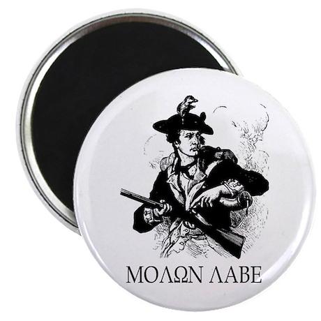 """Molon Labe 2.25"""" Magnet (10 pack)"""