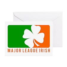Major League Irish Greeting Cards (Pk of 10)
