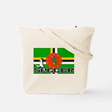 East Timor Flag Soccer Tote Bag