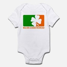 Major League Redhead Infant Bodysuit