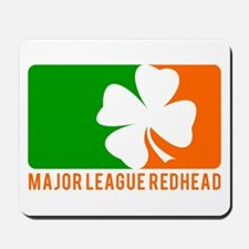 Major League Redhead Mousepad