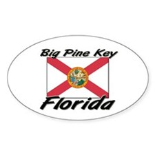 Big Pine Key Florida Oval Decal