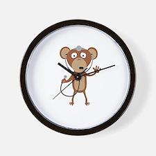 monkey doctor Wall Clock