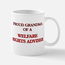 Proud Grandma of a Welfare Rights Adviser Mugs