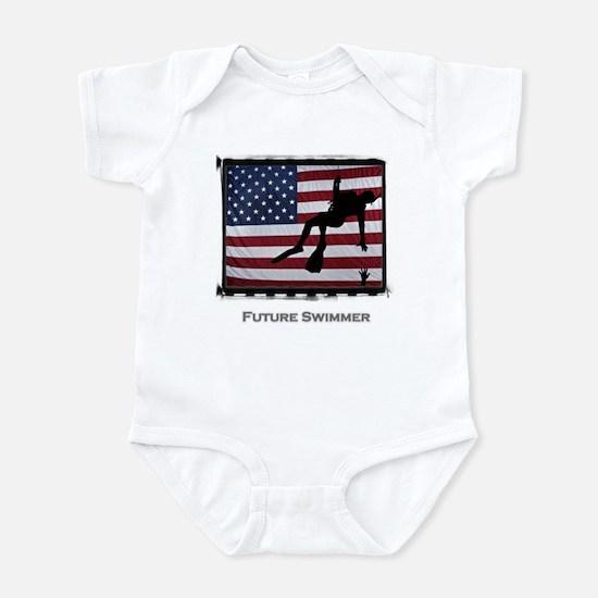 Rescue Swimmer Infant Bodysuit