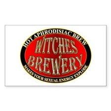 Witches Brewery Rectangle Decal