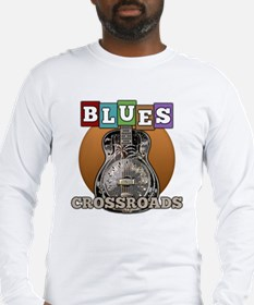 vintage blues music Long Sleeve T-Shirt