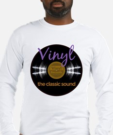 Classic Vinyl Record Long Sleeve T-Shirt