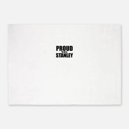 Proud to be STANLEY 5'x7'Area Rug